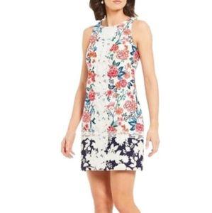 Eliza J Floral Lace Spring Shift Dress